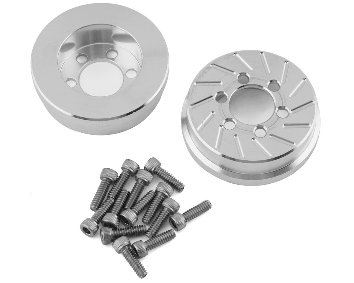 Beef Tubes 1.9 SLW Patties (Aluminum) (2) (Vanquish SLW) (Axial SCX10)