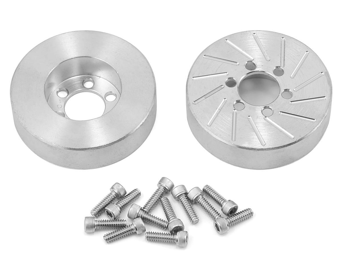 Beef Tubes 2.2 SLW Patties (Aluminum) (2) (Vanquish SLW) (Axial SCX10)