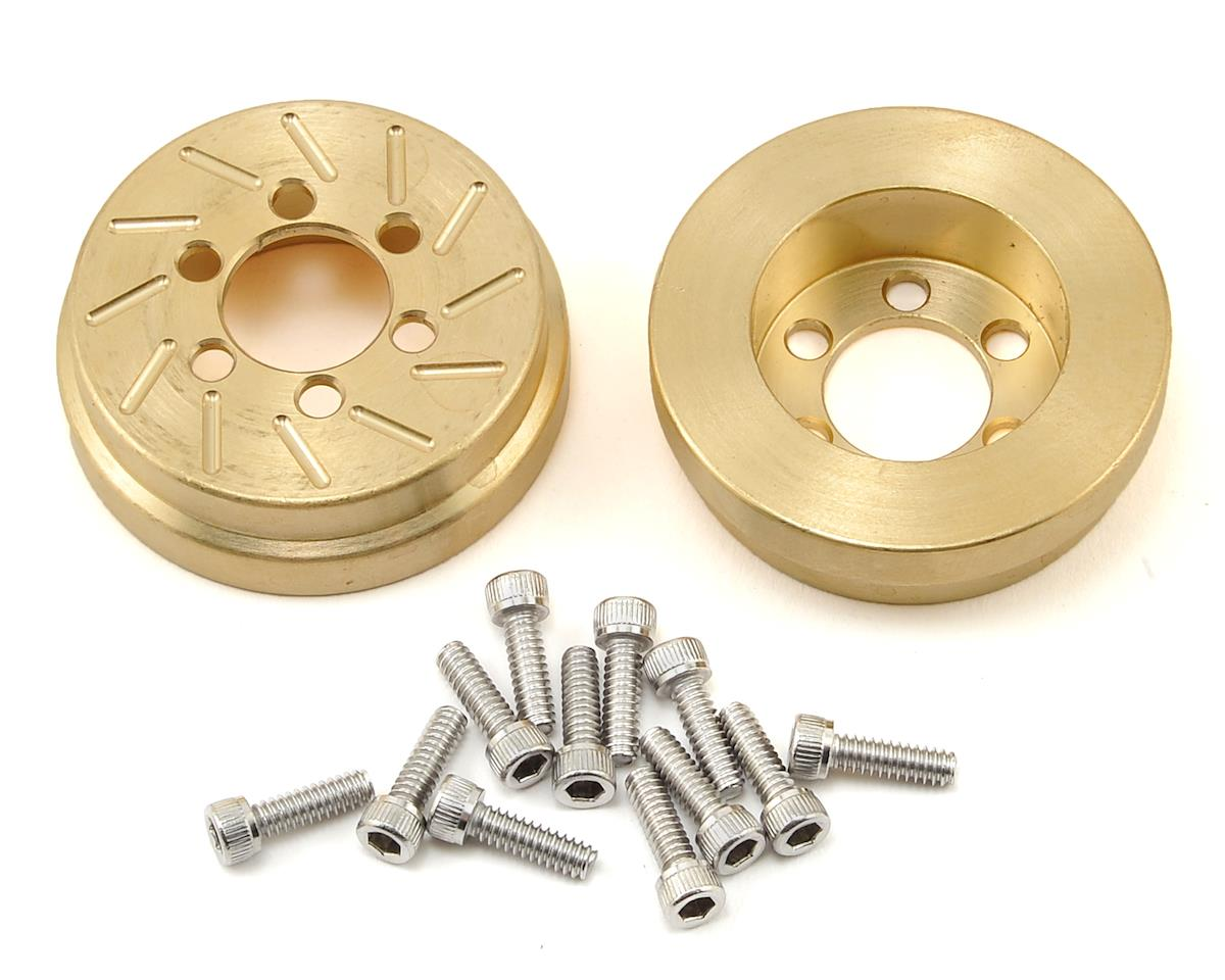 Beef Tubes Patties (Brass) (2) (Vanquish SLW) (Axial AX10)