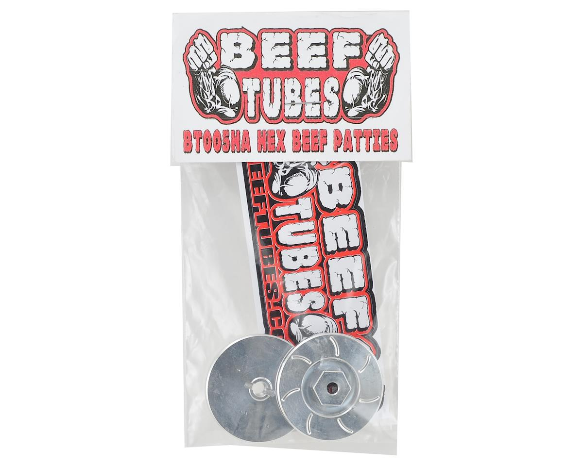Beef Tubes Beef Patties (Aluminum) (2) (Hex Style)