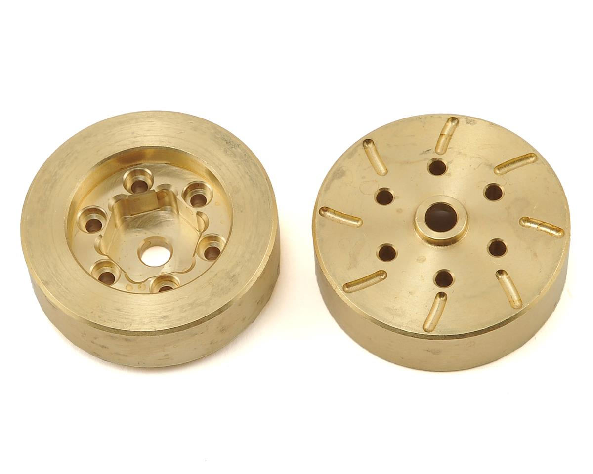 Beef Tubes Beef Patties (Brass) (2) (RC4WD 1.55)