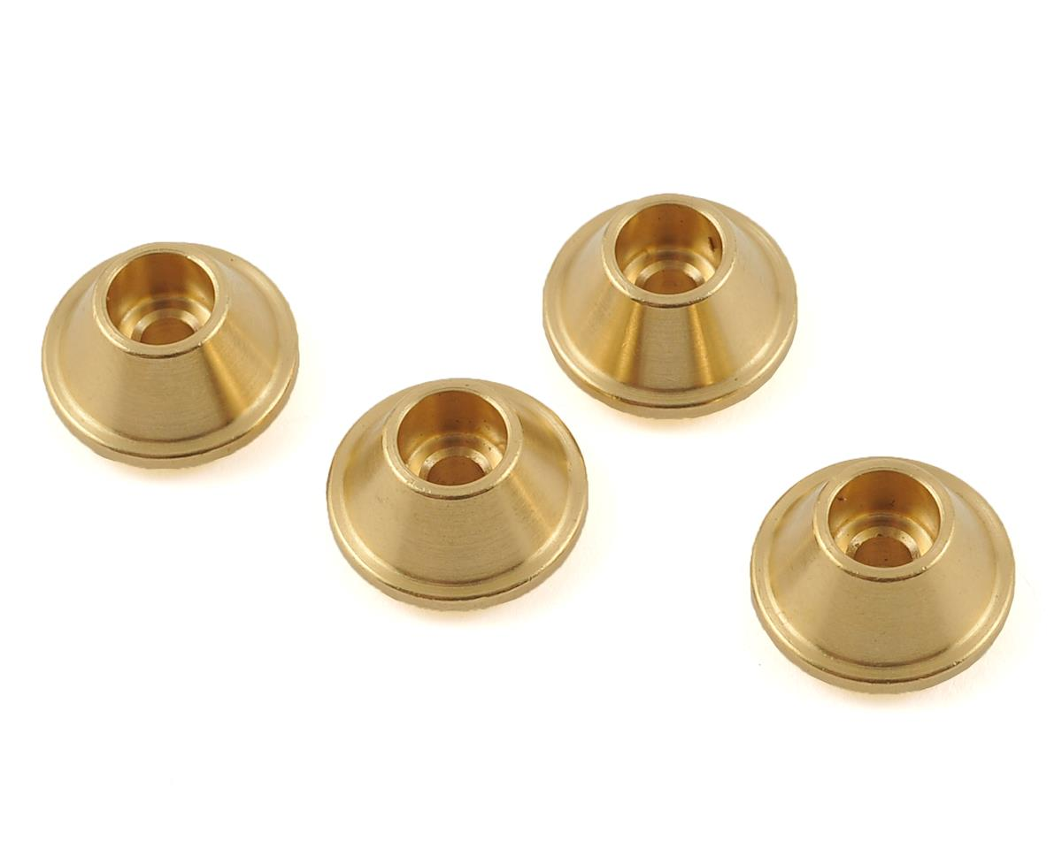 SCX10 Spring Beef Tip (4) (Brass) by Beef Tubes