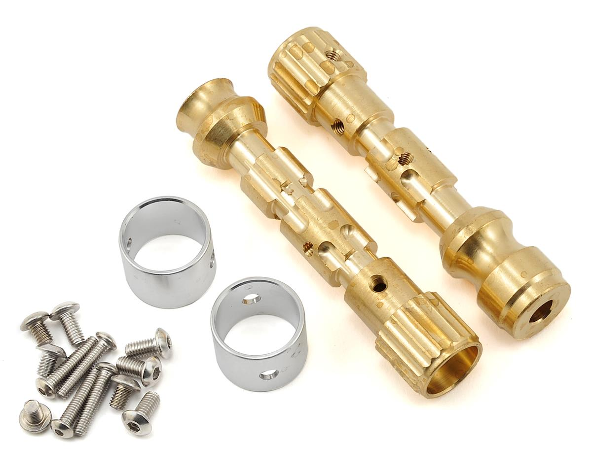 Beef Tubes TKO-10 Wide XR Mod Beef Tubes (Brass)