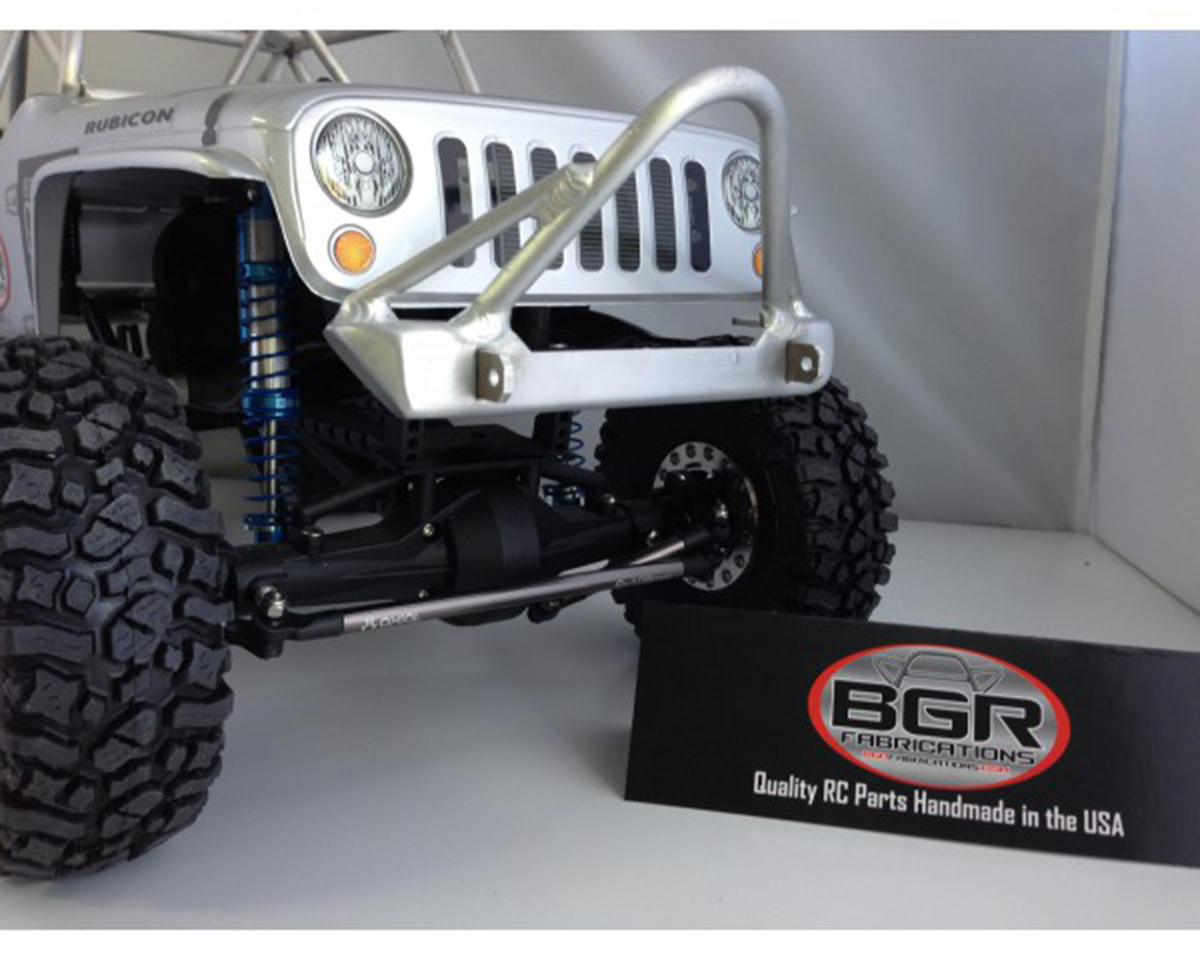 BGR Fabrications SCX10 G6 Front Stinger Bumper w/Tube Gussets