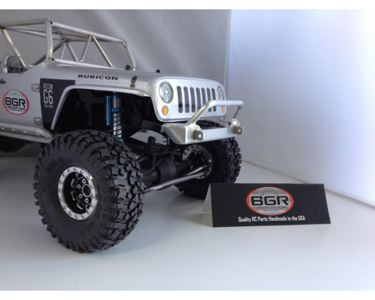 SCX10 G6 Front Wide Trailbar Bumper by BGR Fabrications