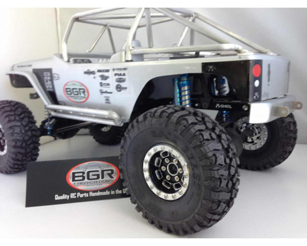 SCX10 G6 Rear Bumper by BGR Fabrications