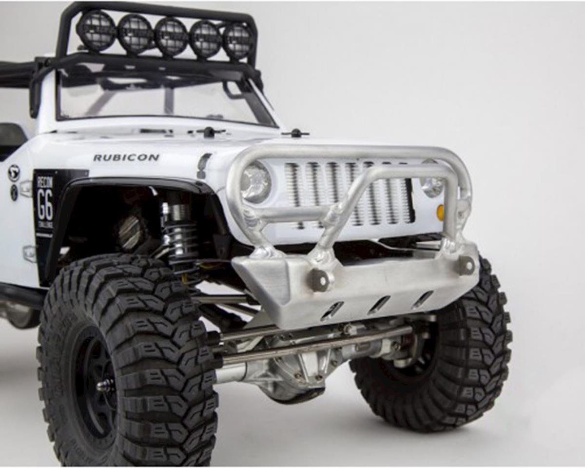 BGR Fabrications SCX10 JK Jeep Rubicon Trail Bar Front Bumper w/Grill Bar