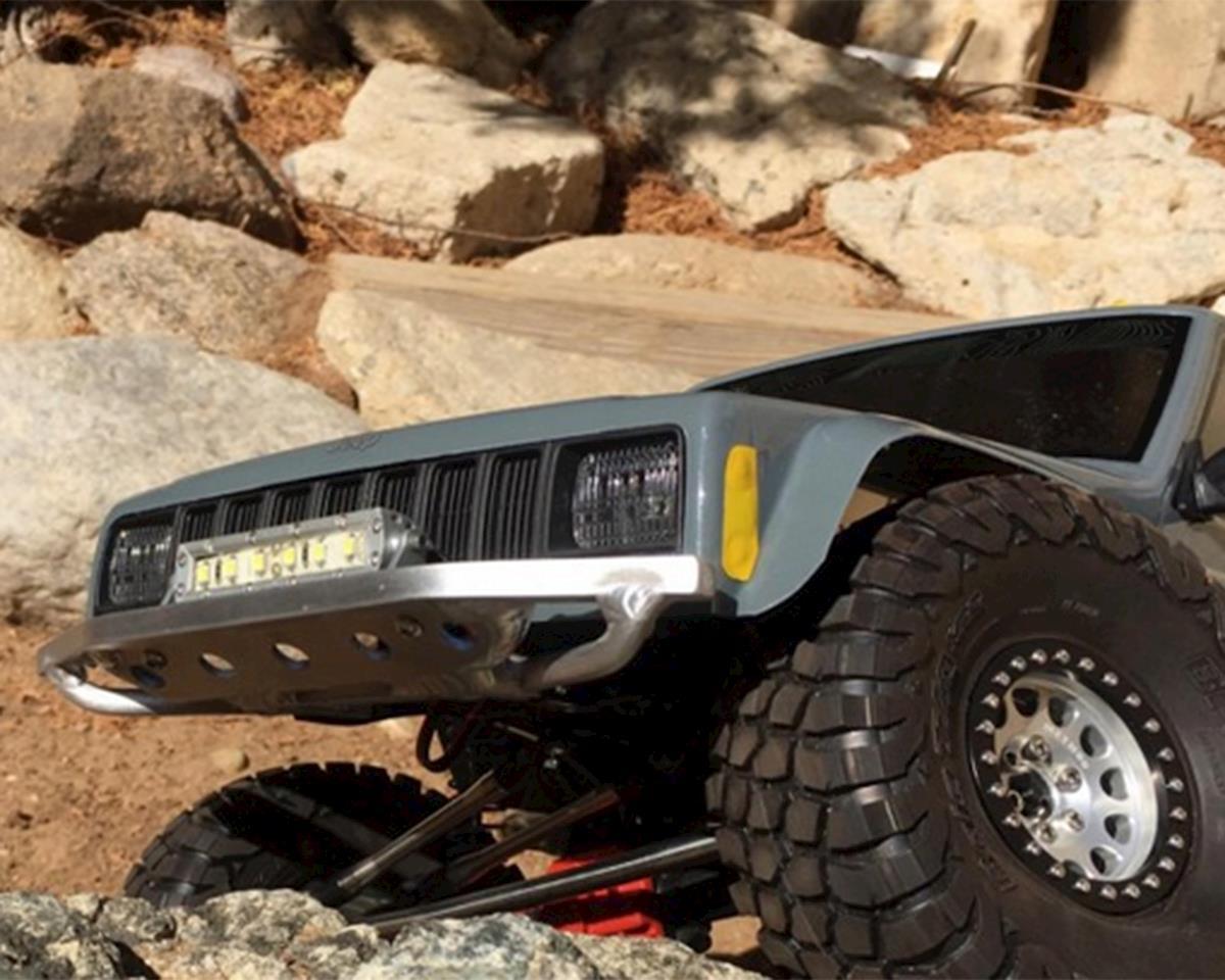 BGR Fabrications SCX10 II Aluminum Front Bumper (Axial XJ Cherokee)