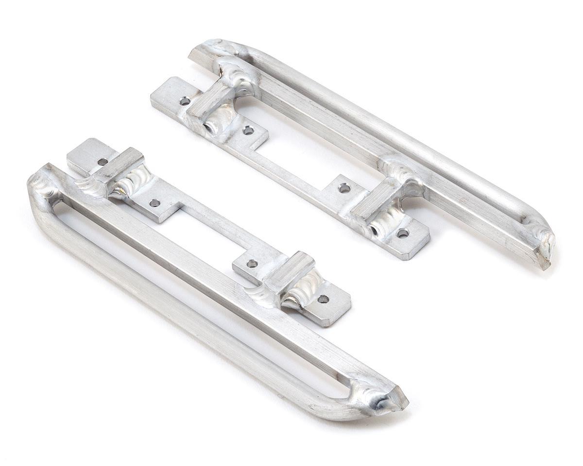 BGR Fabrications SCX10 II Aluminum Sliders w/Light Mount (Axial XJ Cherokee)