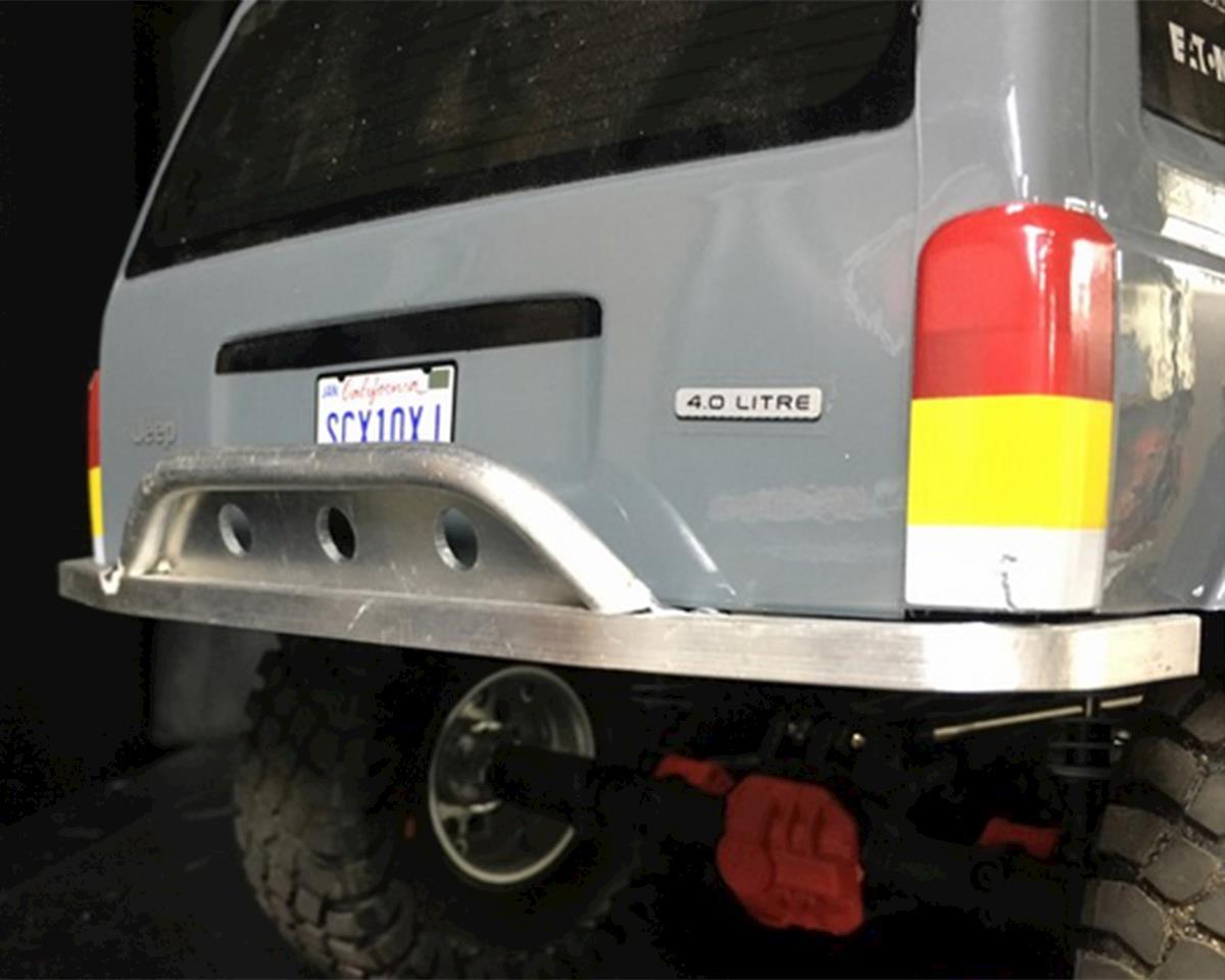 BGR Fabrications SCX10 II Aluminum Rear Bumper (Axial XJ Cherokee)