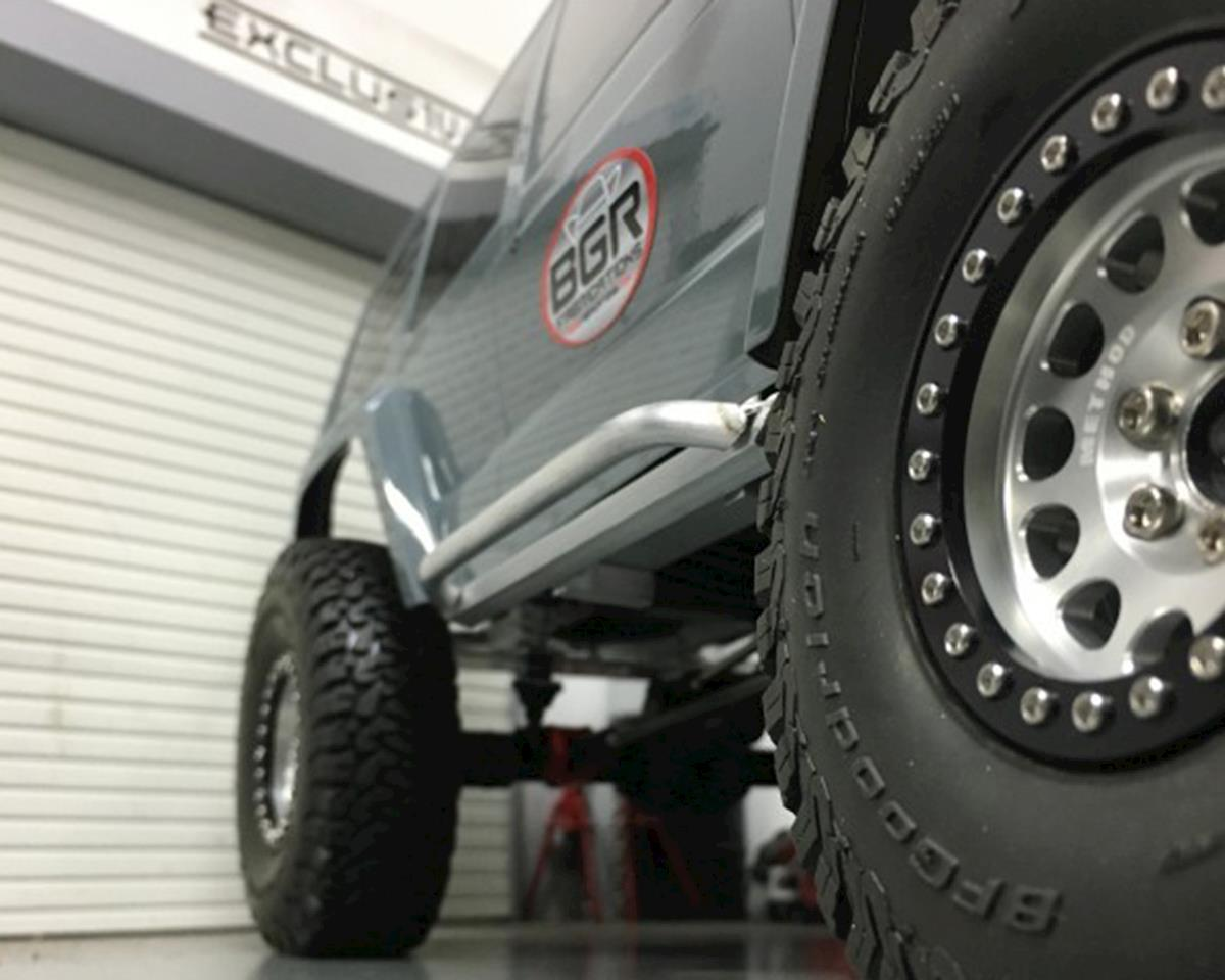 BGR Fabrications SCX10 II Aluminum Sliders (Axial XJ Cherokee)
