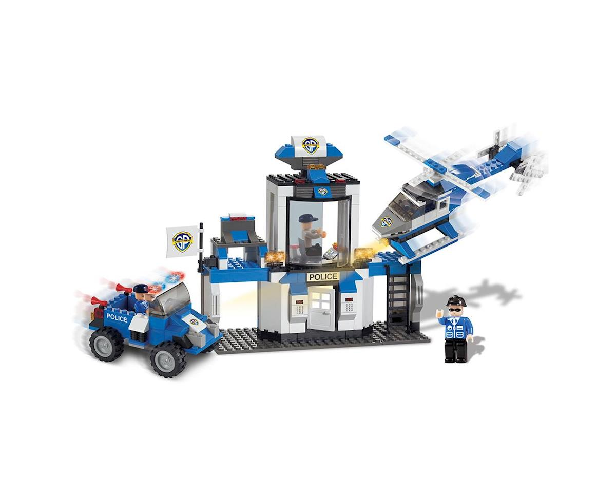 Brictek Building Blocks 11008 Police Rescue Team 10 In 1 330pcs
