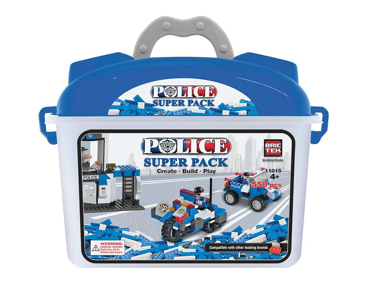 Brictek Building Blocks Police Super Pack 550pcs