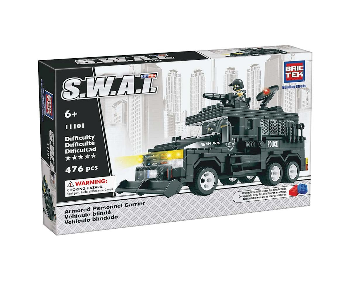 Brictek Building Blocks 11101 SWAT Armored Personnel Carrier 476pcs