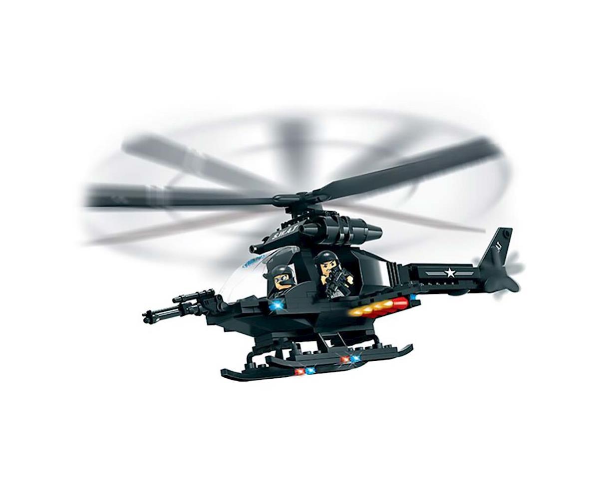 Brictek Building Blocks 11102 SWAT Helicopter 224pcs