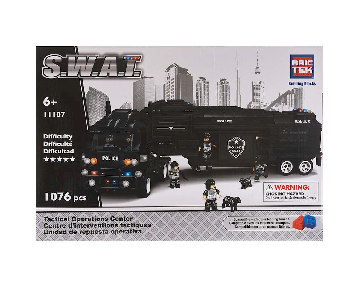 Brictek Building Blocks 11107 Swat Tactical Operation Center