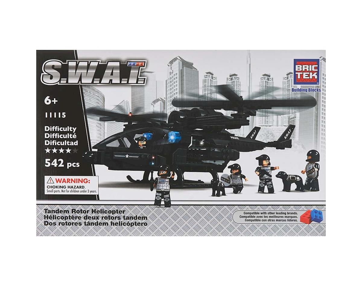 Brictek Building Blocks 11115 Swat Tandem Rotor Helicopter
