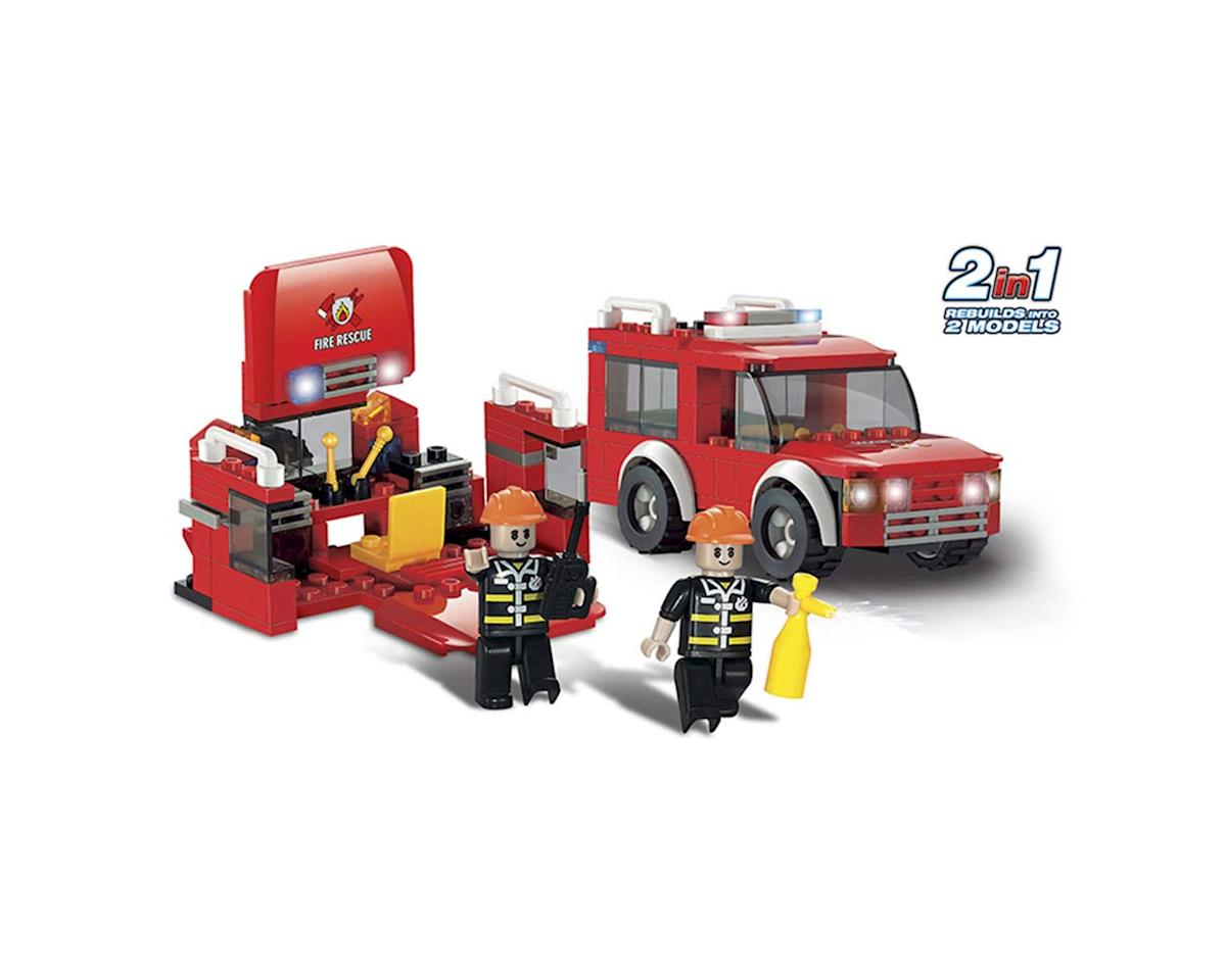Brictek Building Blocks 11330 Fire First Response 2 in 1 147pcs
