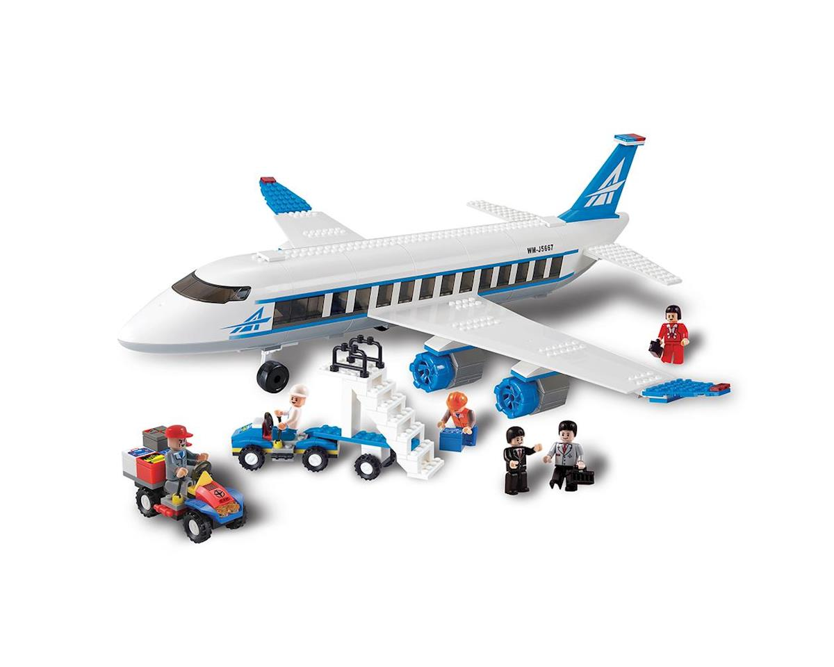 Brictek Building Blocks 11504 Airplane 434pcs