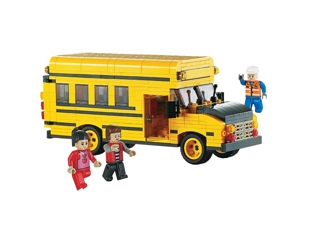 Brictek Building Blocks 11510 Mini School Bus 456pcs