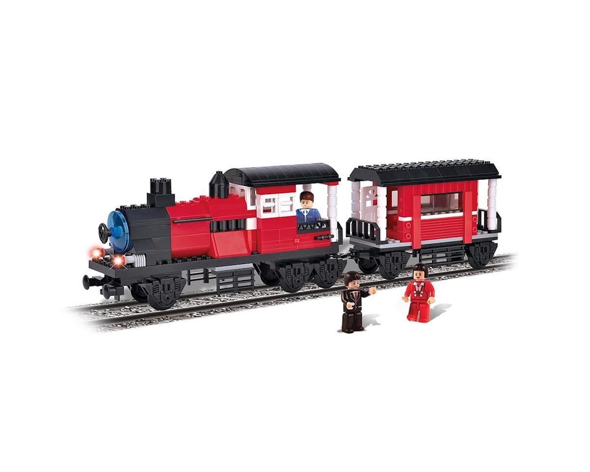 Brictek Building Blocks 11702 Locomotive w/Wagon 5 In 1 335pcs