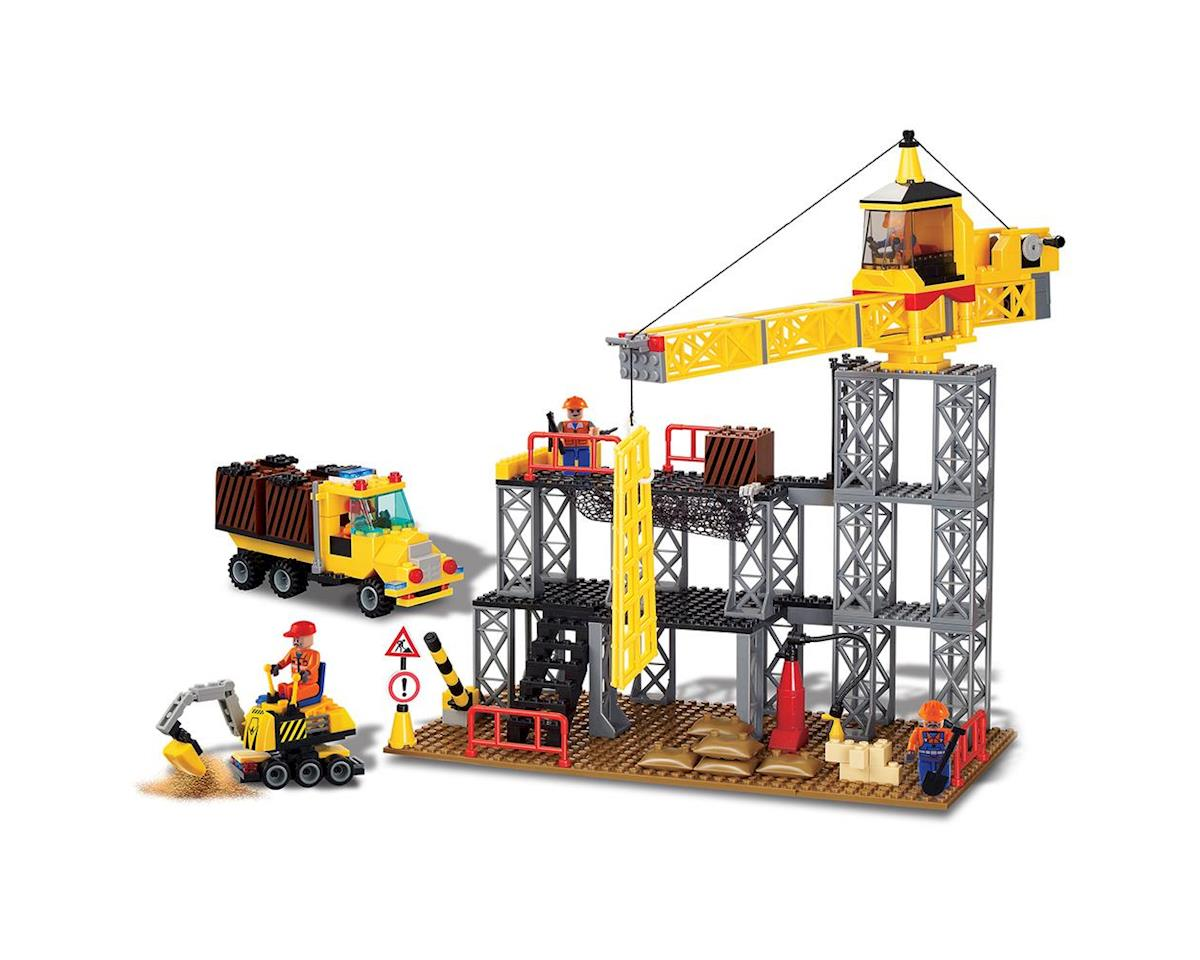 Brictek Building Blocks 14005 Construction Site 395pcs