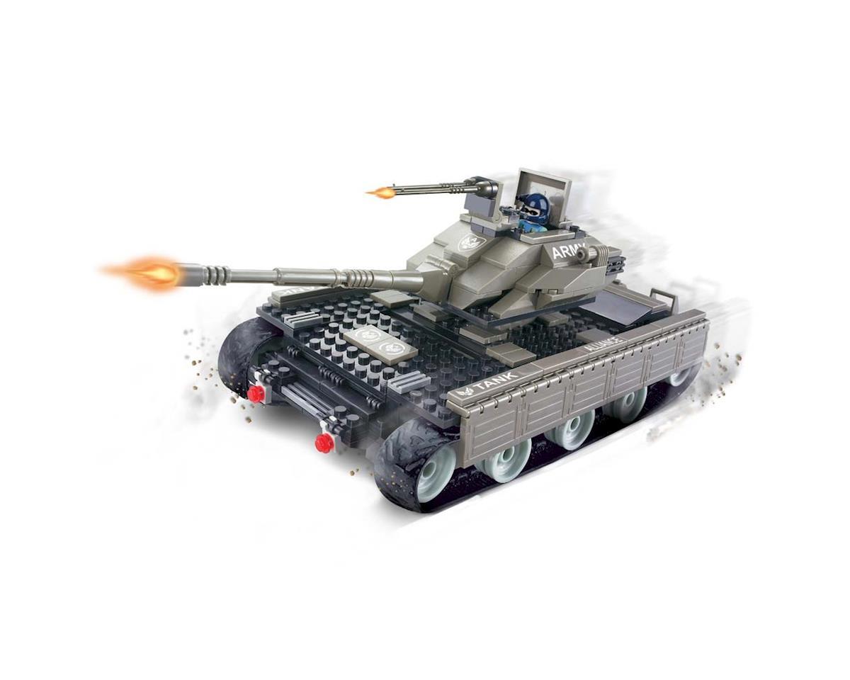 Brictek Building Blocks 15014 Mega Tank 10 In 1 321pcs