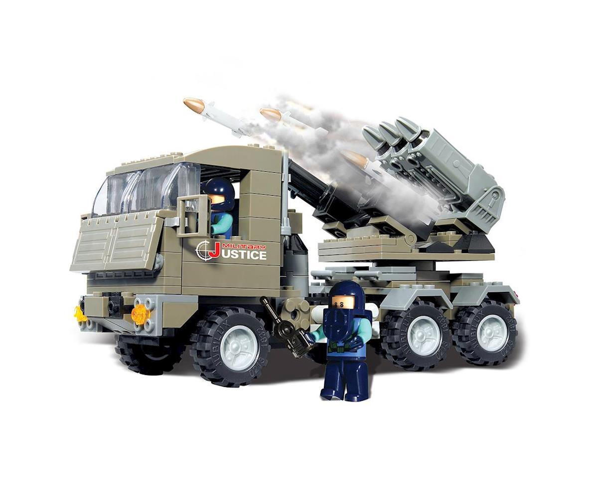 Brictek Building Blocks 15017 Rocket Launcher Justice 226pcs