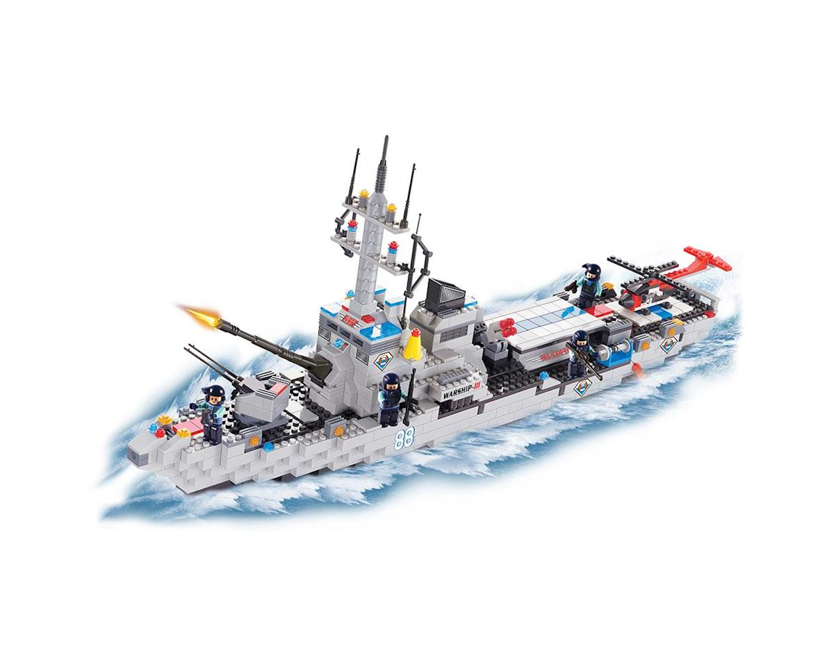 Brictek Building Blocks 15405 Helicopter Carrier 778pcs