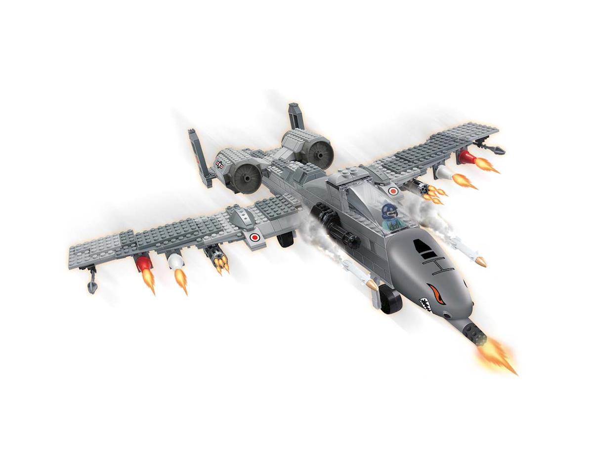 Brictek Building Blocks 15713 Air Force Fighter Plane 384pcs