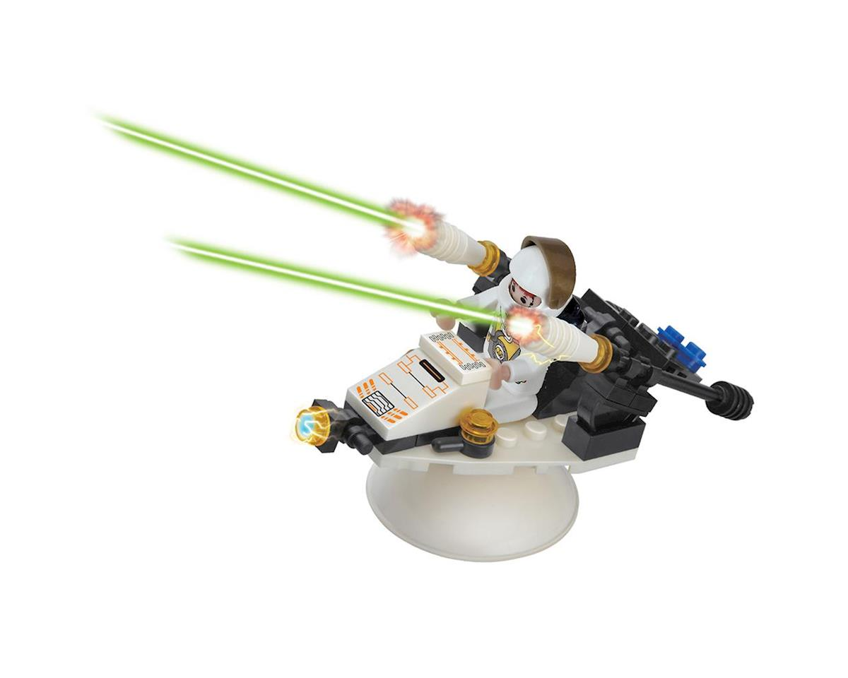 17006 Space Fighter w/Rotating Stand 46pcs by Brictek Building Blocks