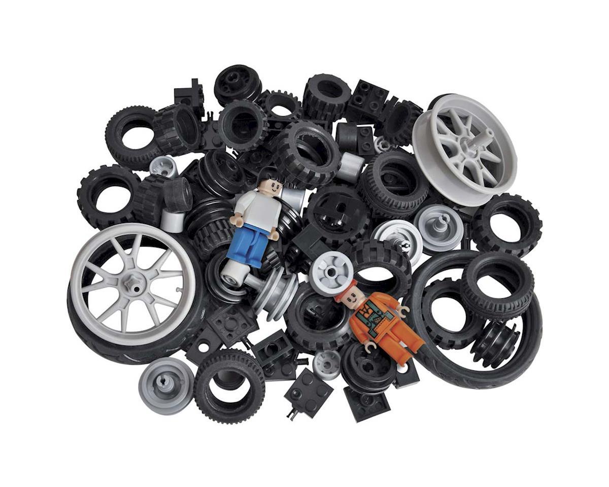 Brictek Building Blocks 19004 Wheels Kit 108pcs