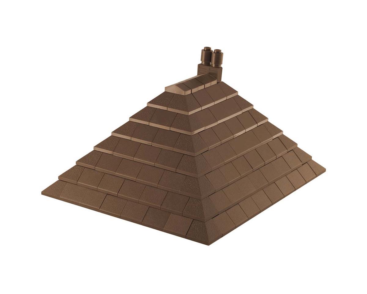 19011 Roof Tiles Brown 138pcs by Brictek Building Blocks