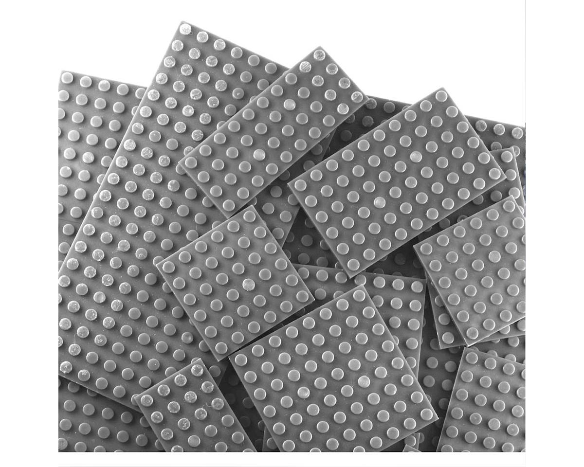 Brictek Building Blocks 19015 Baseplates Assorted Grey (17)