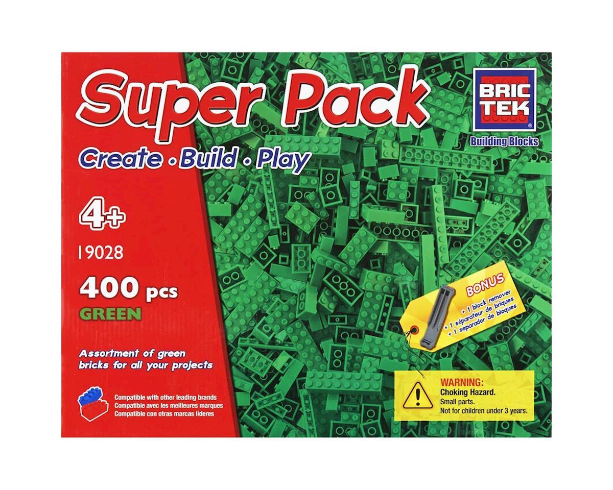 Brictek Building Blocks 19028 Green Super Pack 440pcs