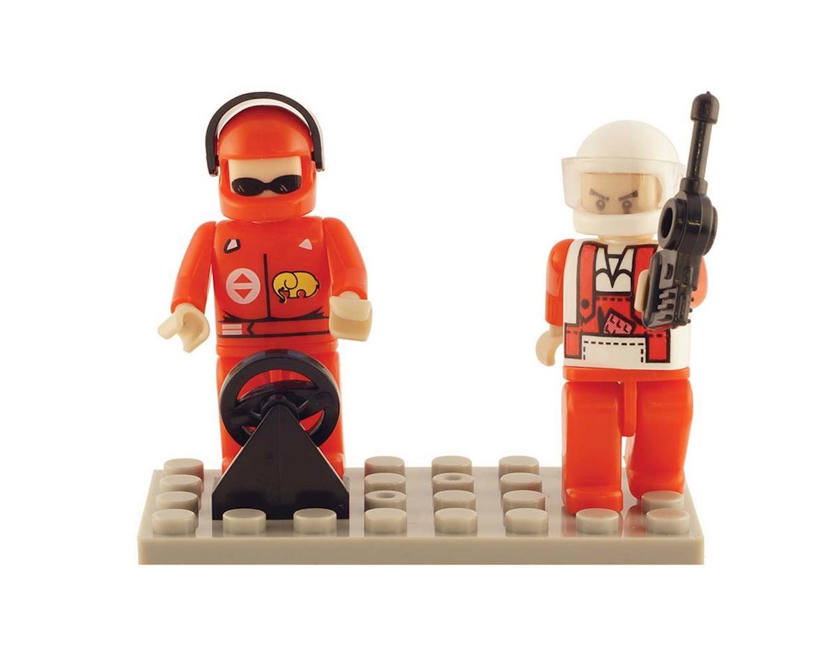 Brictek Building Blocks 19208 Mini Figurines Racing (2)
