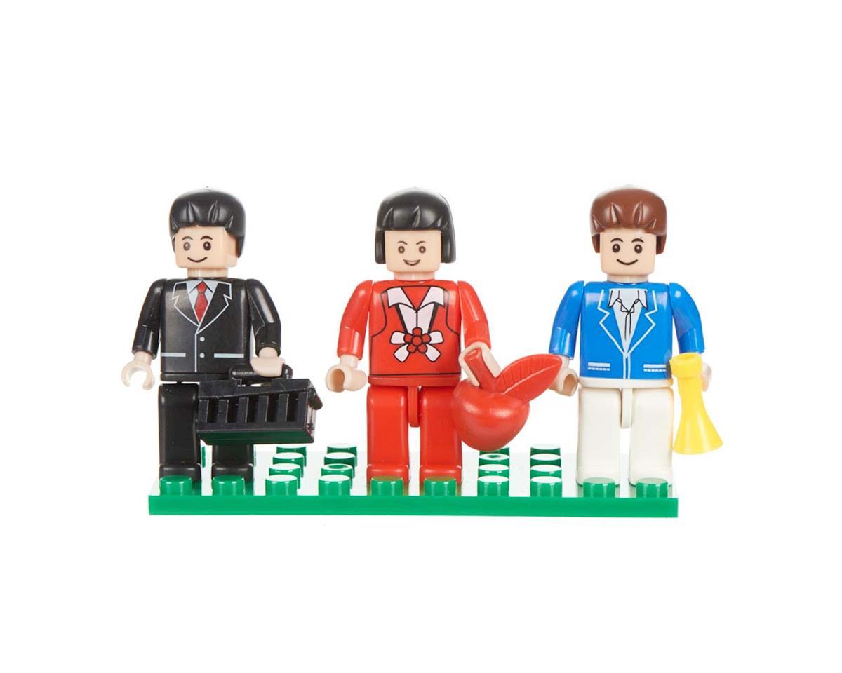 Brictek Building Blocks 19302 Mini Figurines Urban (3)