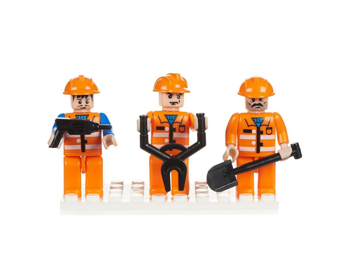 19305 Mini Figurines Construction (3) by Brictek Building Blocks