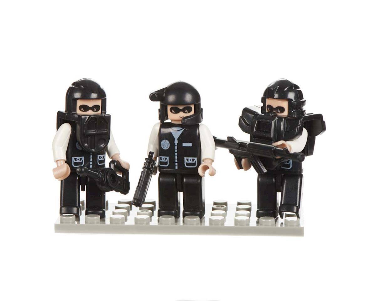 19307 Mini Figurines Police Swat Team (3)