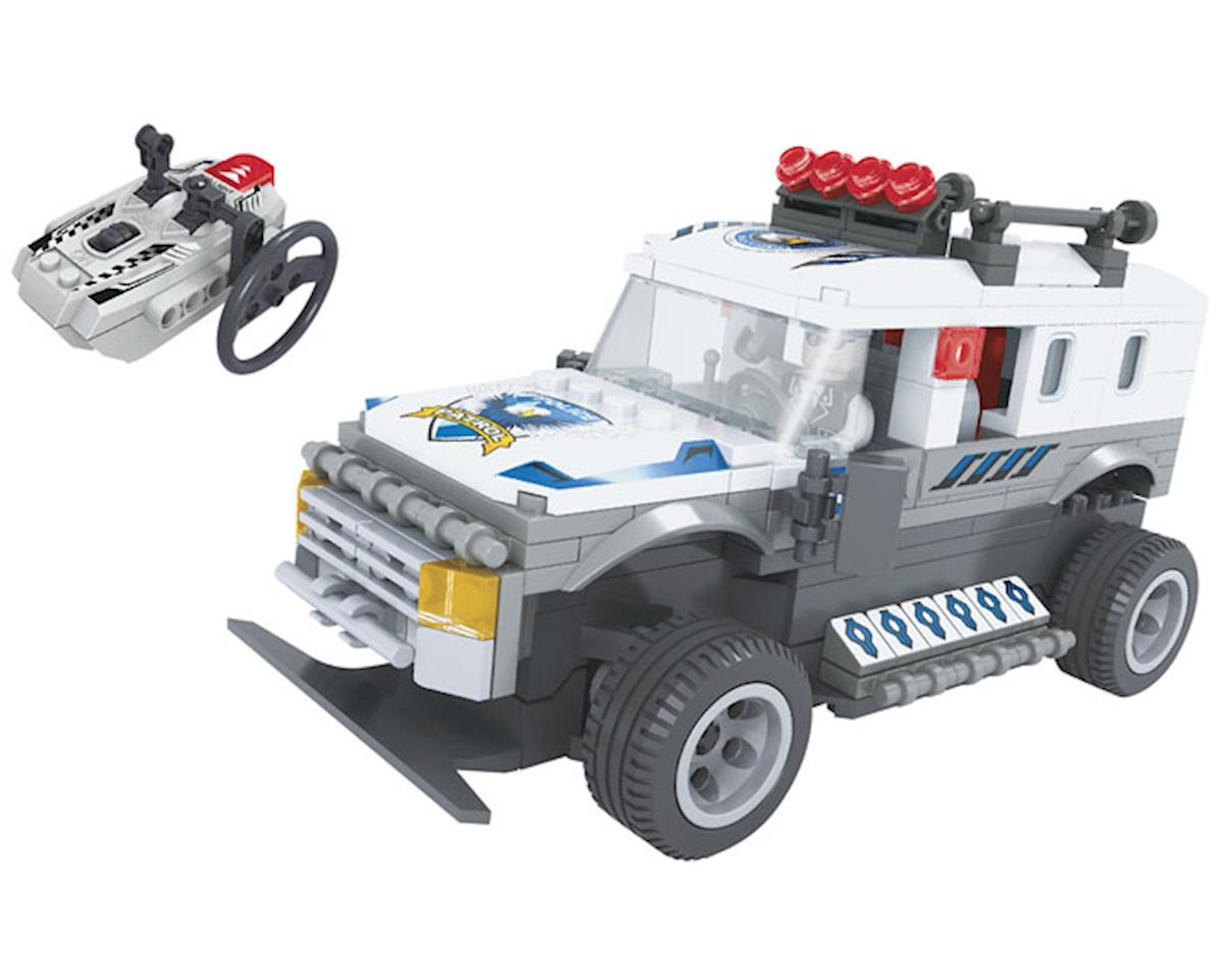 Brictek Building Blocks 20203 R/C Police Truck 268pcs