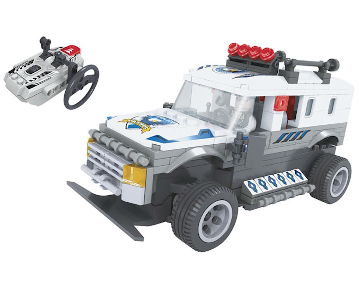 20203 R/C Police Truck 268pcs by Brictek Building Blocks