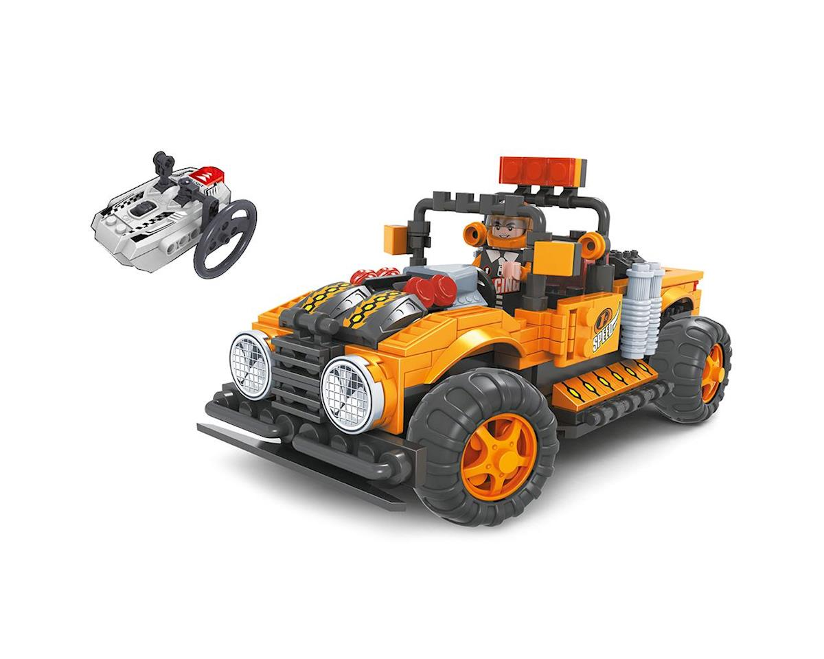 Brictek Building Blocks 20212 R/C Off-Road Truck Orange 252pcs