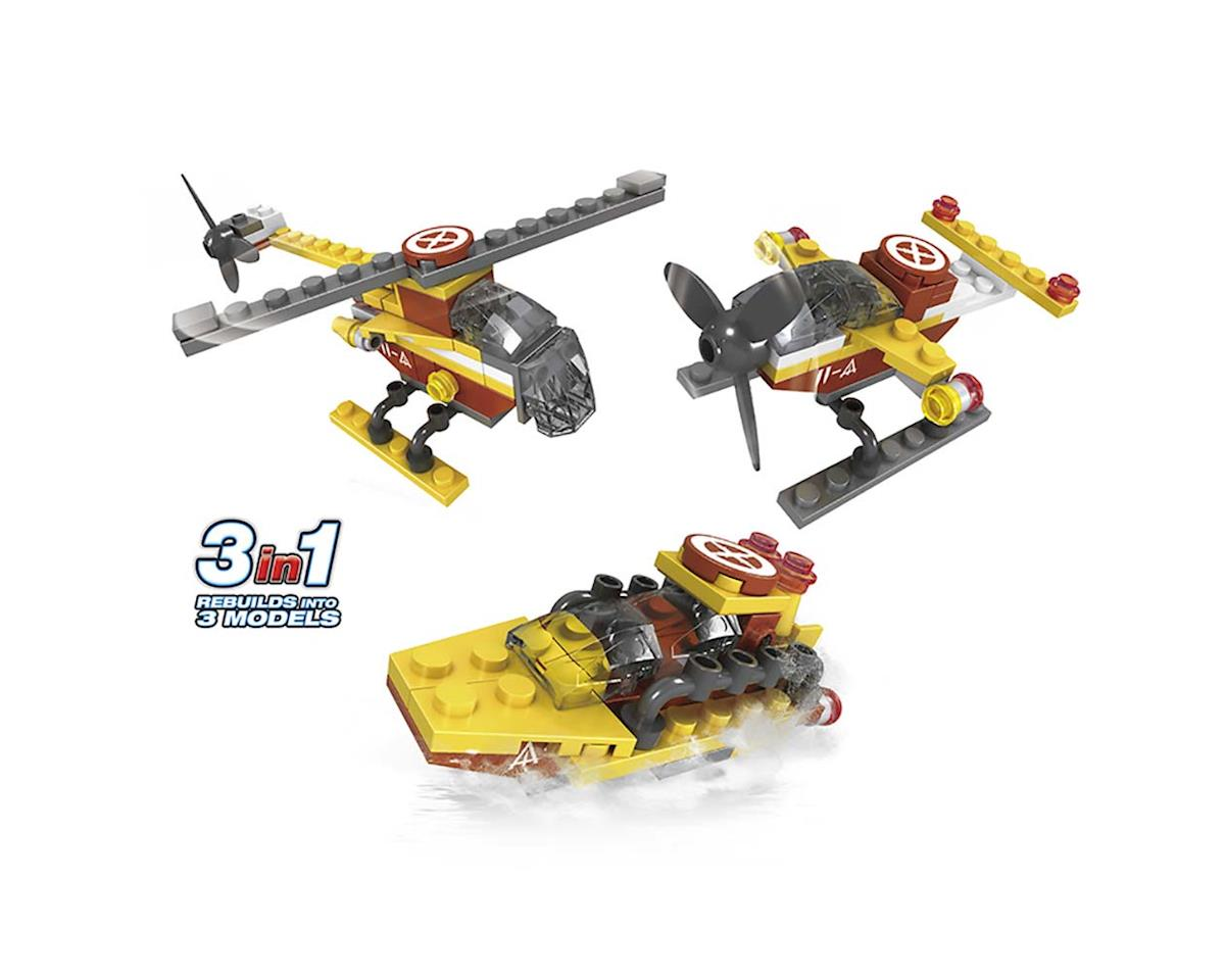 Brictek Building Blocks 21525 Airport Mini Seaplane 3in1 52pcs