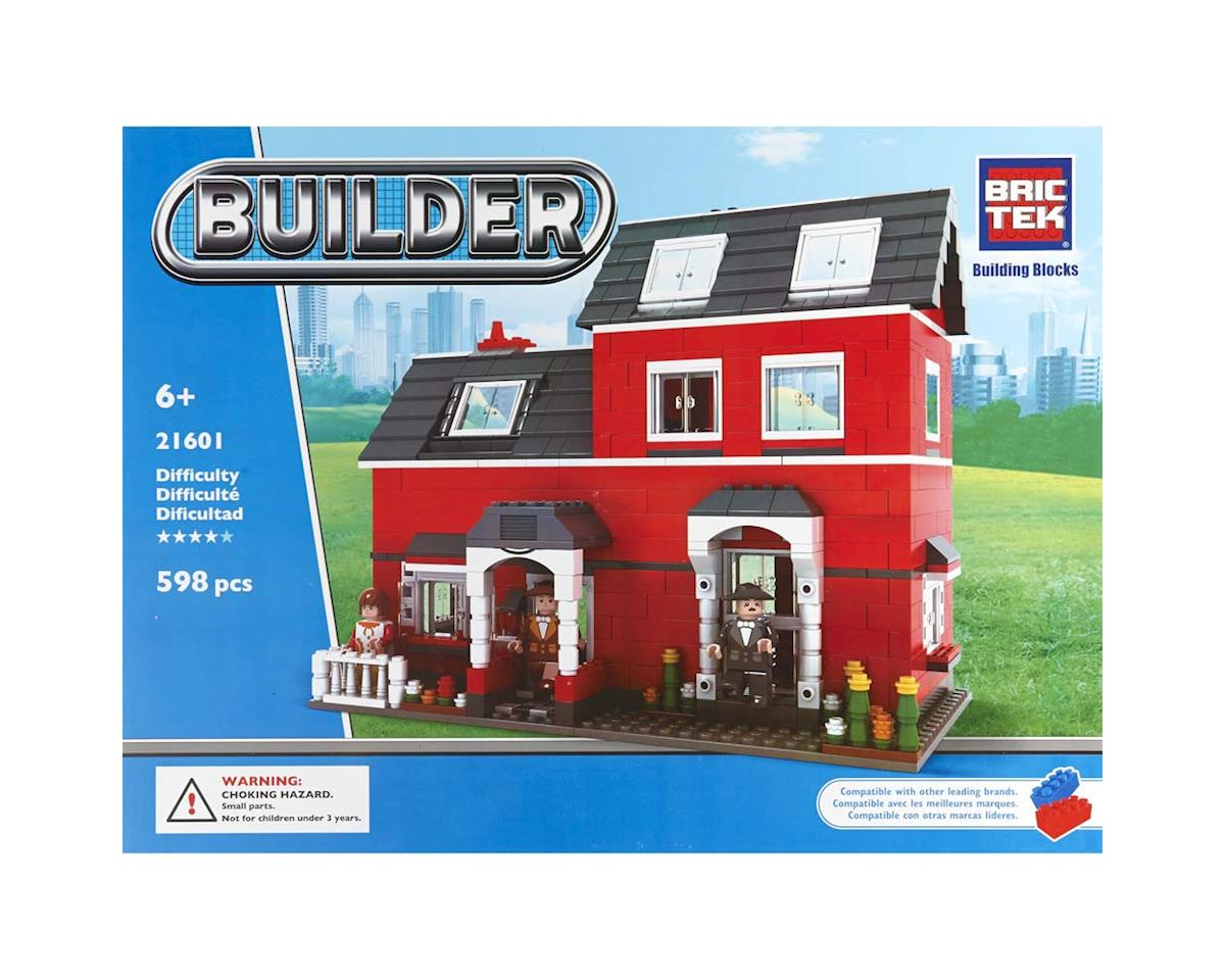 Brictek Building Blocks Red House 598pcs