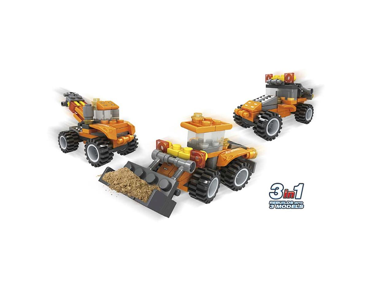 Brictek Building Blocks 24029 Construction Mini Loader 3in1 57pcs
