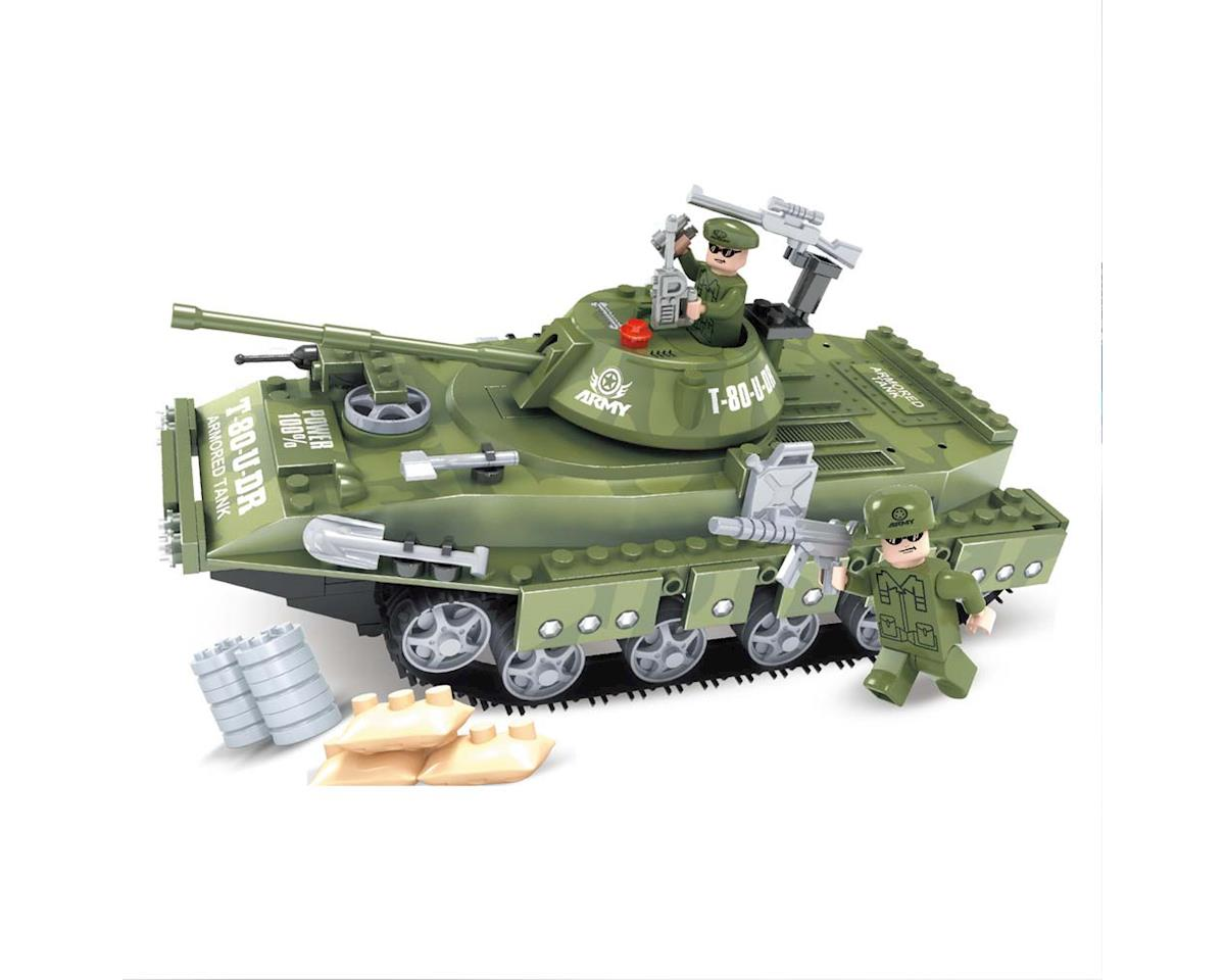 Brictek Building Blocks 25007 Army T-80-U Tank 213pcs