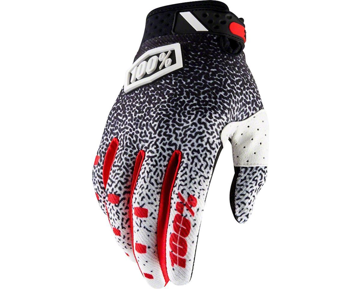 Ridefit Full Finger Glove (Black/White)