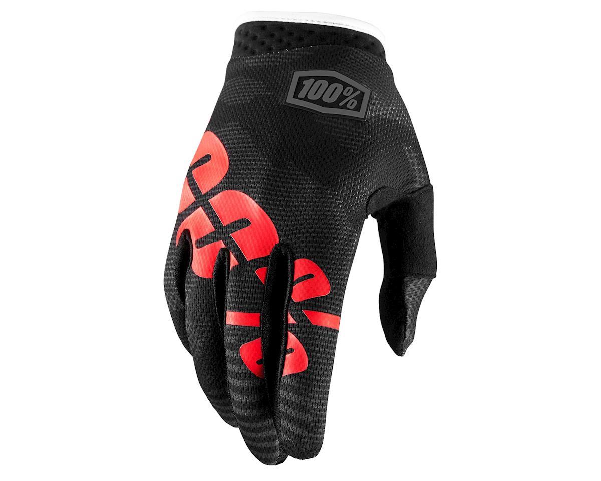 iTrack Full Finger Glove (Black Camo)