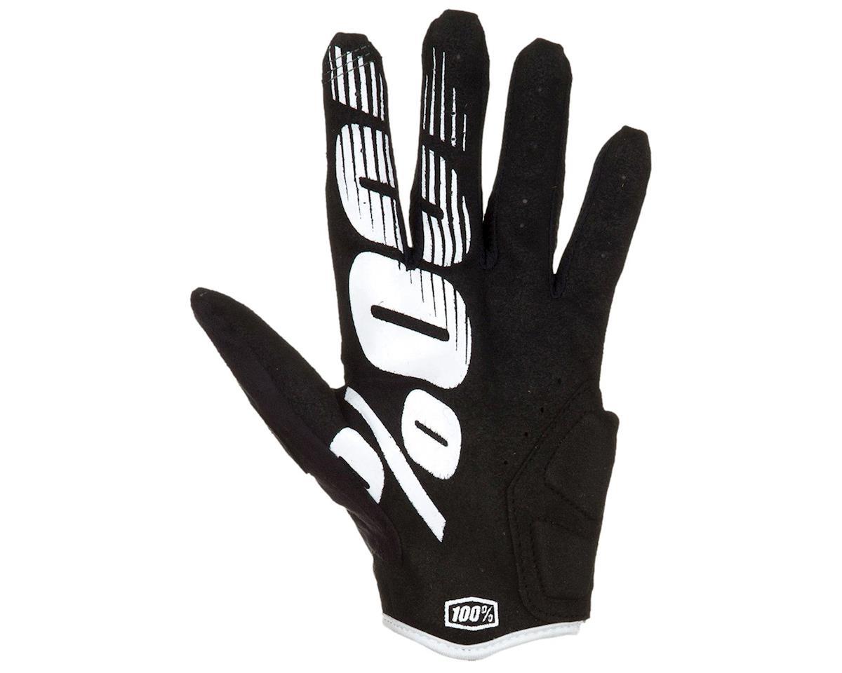 100% Simi Full Finger Glove (Black) (M)
