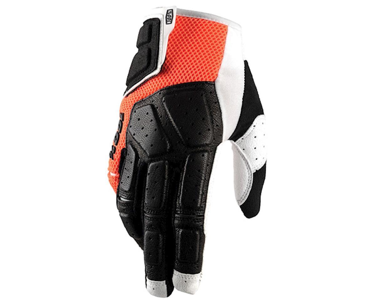 100% Simi Full Finger Glove (Orange) (S)